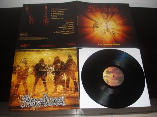 Merciless (Swe) - The Treasures Within, LP