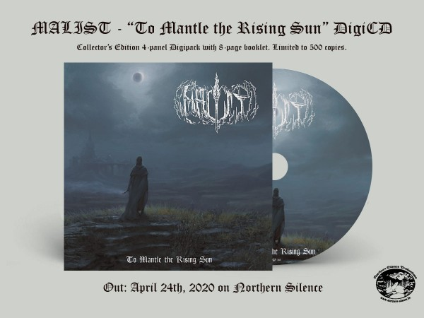 Malist - To Mantle the Rising Sun, DigiCD
