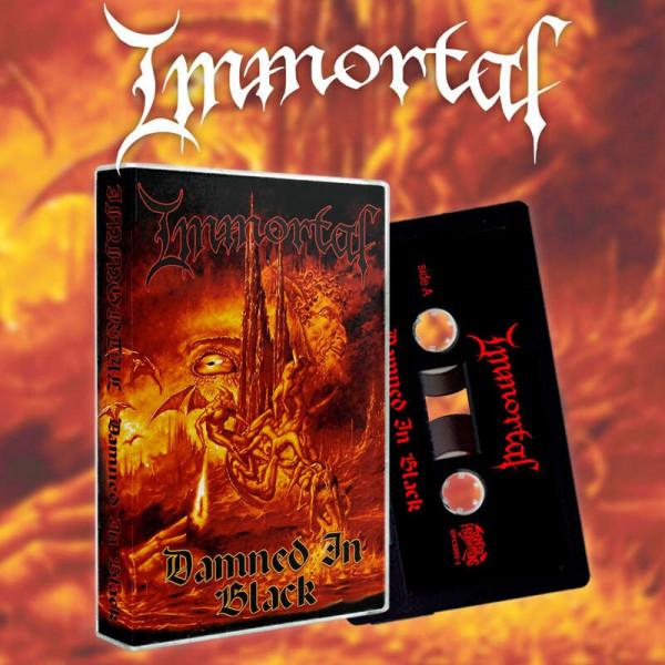 Immortal - Damned in Black [alternative cover], MC