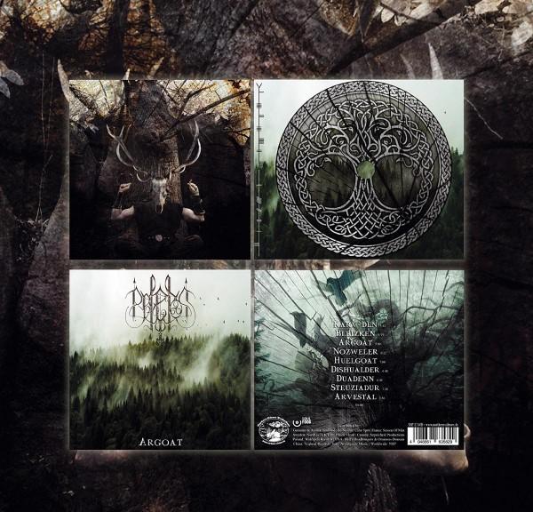 Belenos - Argoat, CD