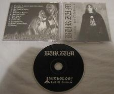 Burzum - Anthology : Lord Of Darkness, CD