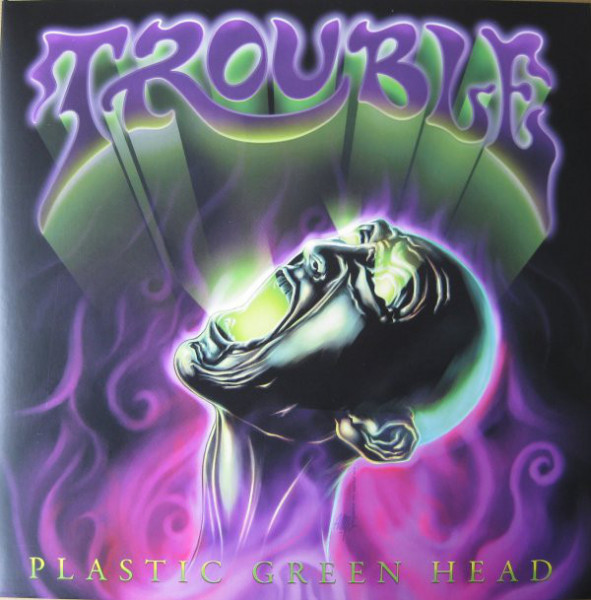 Trouble - Plastic Green Head [white - 150], LP