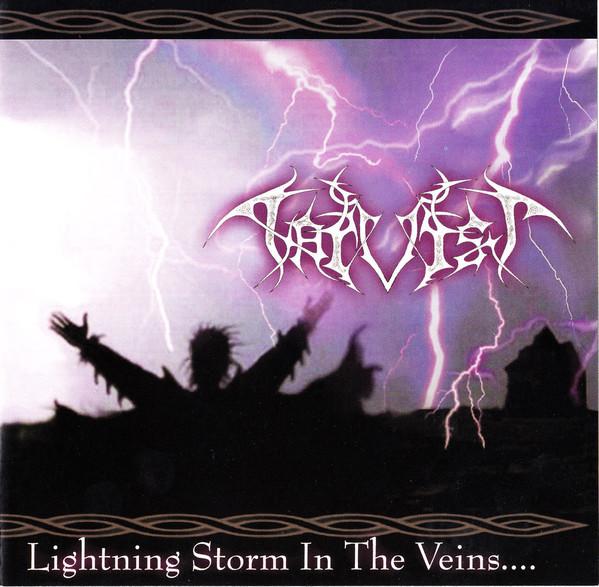 Harvist - Lightning Storm In The Veins, CD