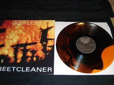 Godflesh - Streetcleaner [orange/black], LP