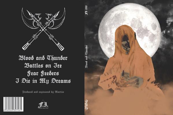 Mortiis - Blood And Thunder [500], A5-DigiCD