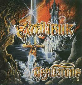 Headstone (Ger)/Invader (Ger) - Excalibur/Children Of War, SC-CD