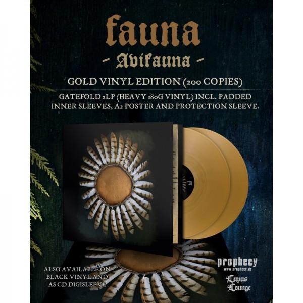 Fauna - Avifauna [gold - 200], 2LP