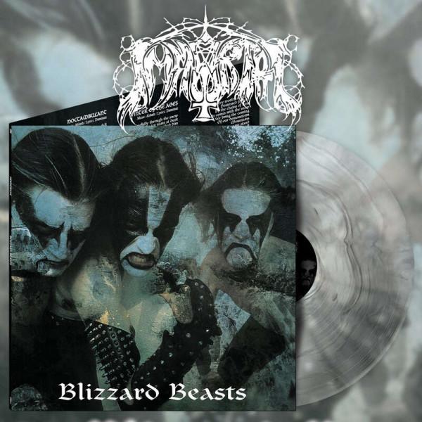 Immortal - Blizzard Beasts [ultra clear/silver galaxy - 500], LP