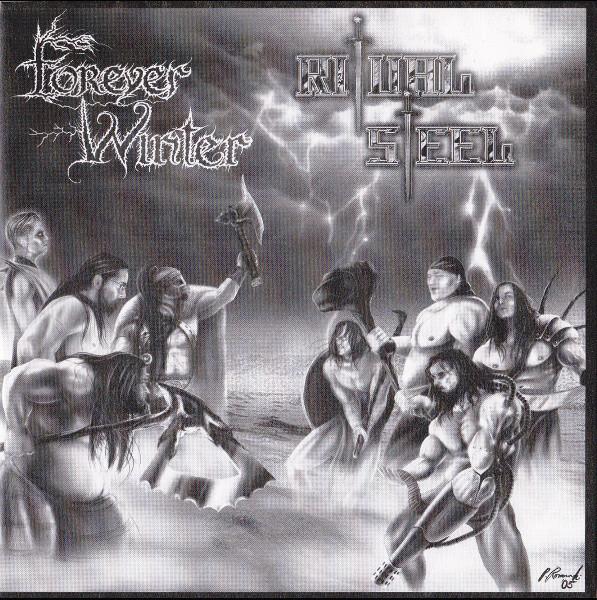 """Forever Winter/Ritual Steel - Split, 7"""""""