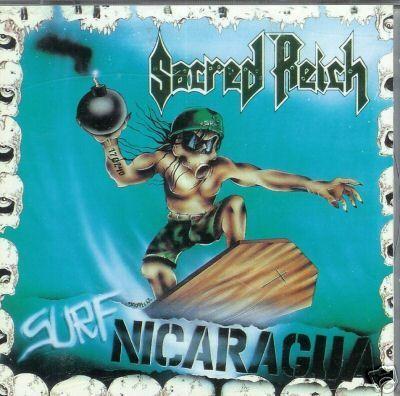Sacred Reich - Surf Nicaragua, CD