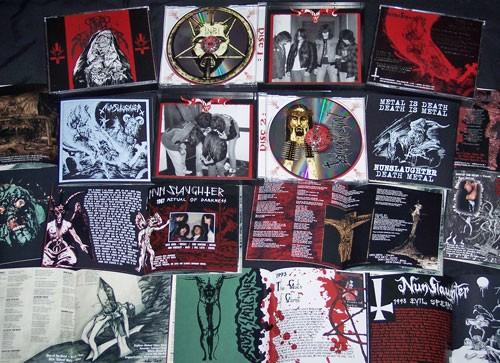 Nunslaughter - DemoSlaughter, 2CD