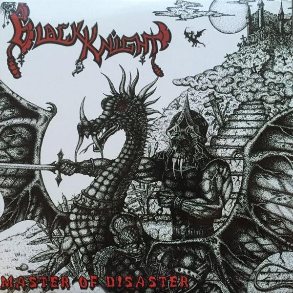 Black Knight - Master Of Disaster [red - 200], 2LP