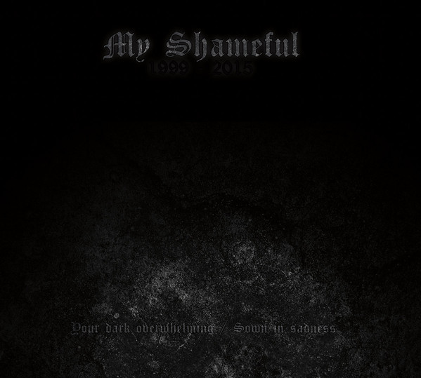 My Shameful - Your Dark Overwhelming/Sown in Sadness, DigiCD