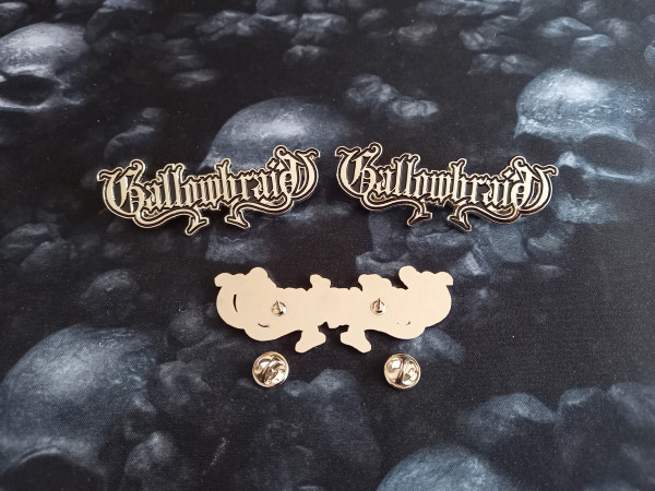 Gallowbraid - Logo, Metal Pin