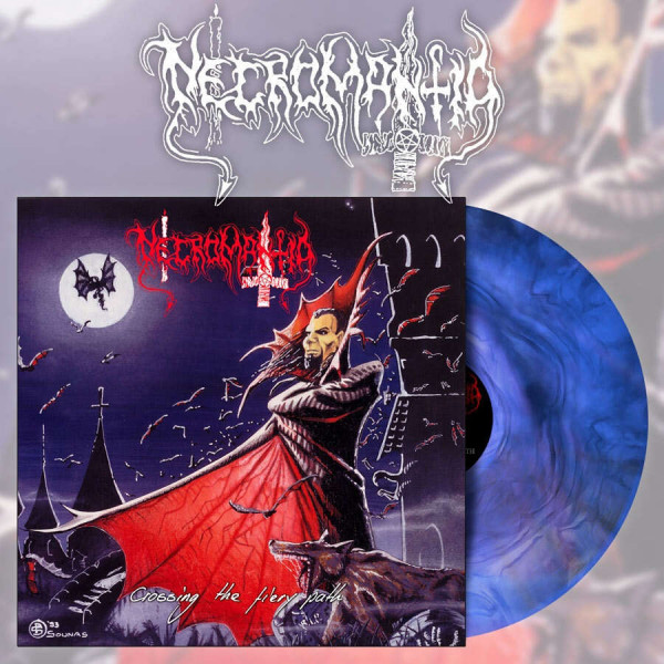 Necromantia - Crossing The Fiery Path [blue/black marble - 500], LP