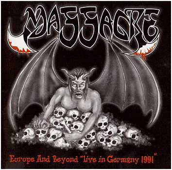 Massacre - Europa And Beyond - Live in Germany 1991, CD