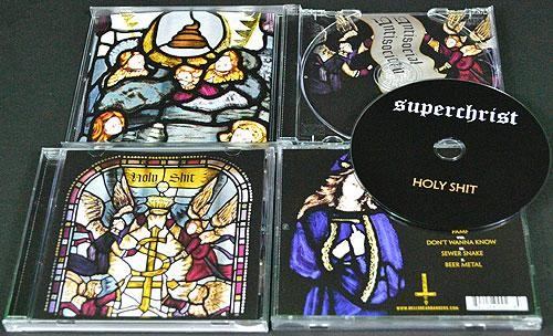 Superchrist - Holy Shit, CD