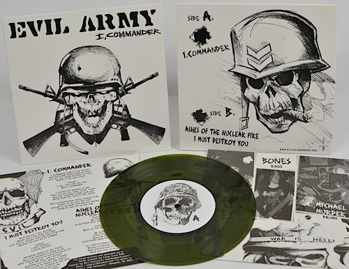 Evil Army - I, Commander [green], 7""