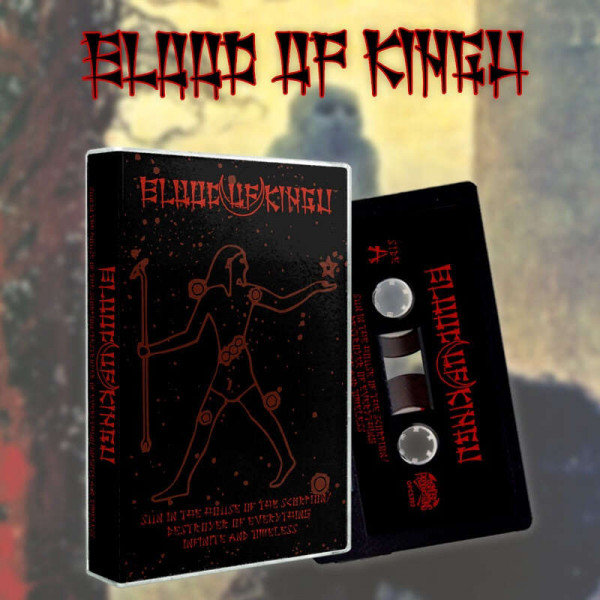 Blood Of Kingu ‎– Sun In The House Of The Scorpion, TAPE