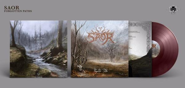 Saor - Forgotten Paths [oxblood - 200], LP