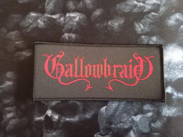 Gallowbraid - Logo, Patch (woven)
