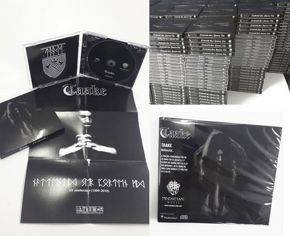 Taake - Nattestid..., SC-CD
