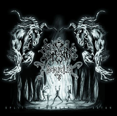 Bestial Summoning/Heretic - Splitting Skulls For Satan, CD