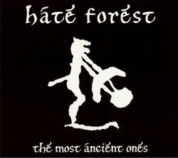 Hate Forest - The Most Ancient Ones, DigiCD