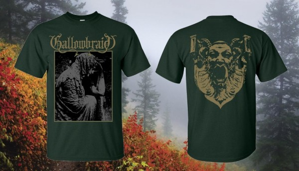 Gallowbraid - Gallowbraid [forest green], TS