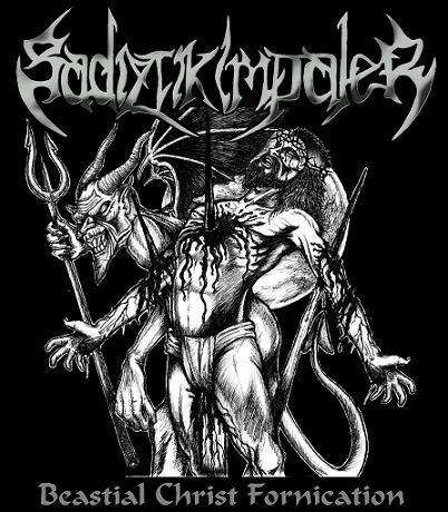 "Sadiztik Impaler - Beastial Christ Fornication, 7"""