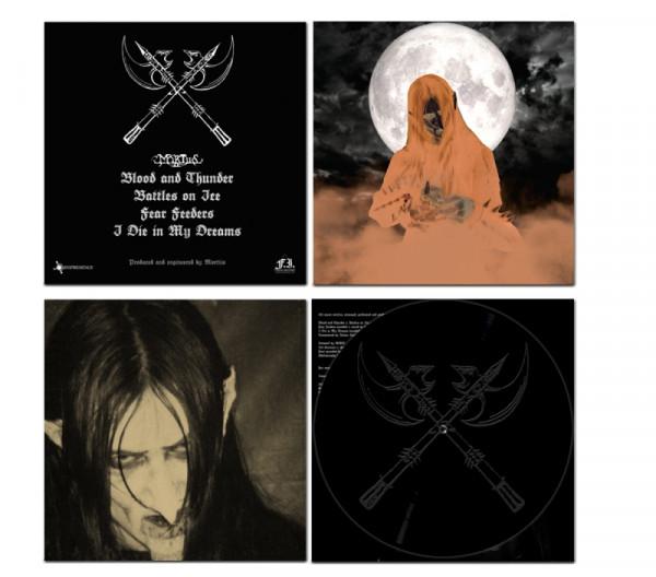 Mortiis - Blood and Thunder [black - 500], LP