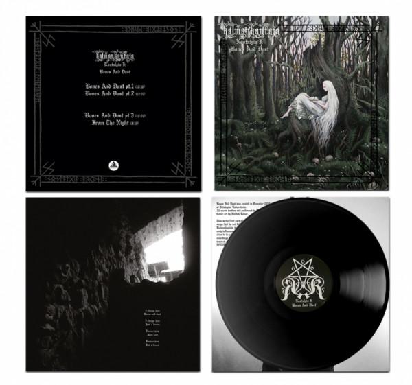 Kalmankantaja - Nostalgia I: Bones And Dust [black - 280], LP