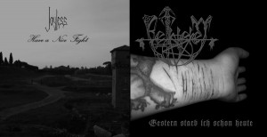 "Joyless/Bethlehem - Split [black], 7"""