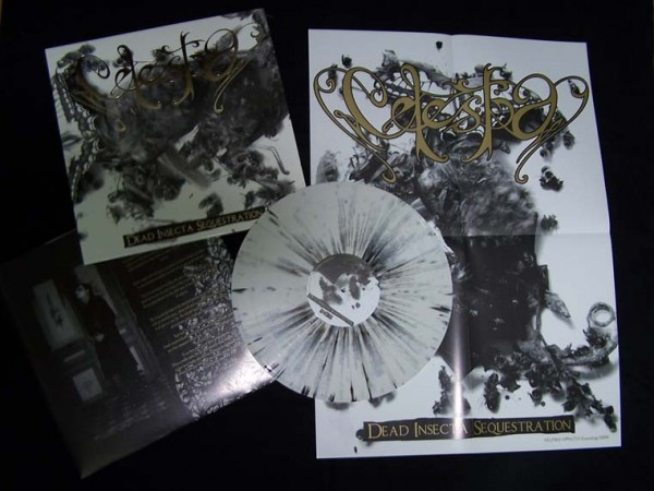 Celestia - Dead Insekta Sequestration [splatter], LP