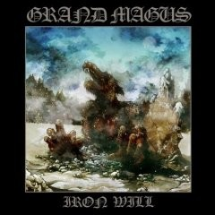 Grand Magus - Iron Will [pale blue], LP