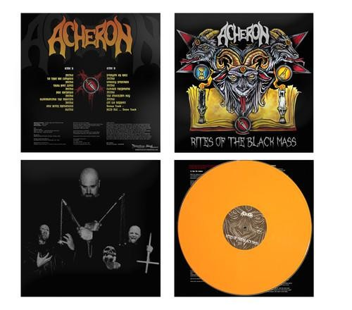 Acheron - Rites Of The Black Mass [orange], LP