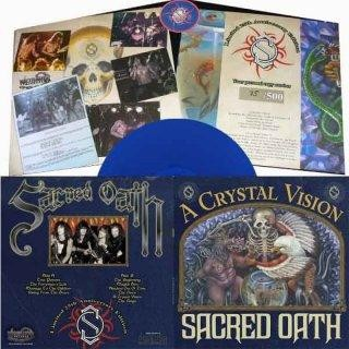Sacred Oath - A Crystal Vision [blue + patch - 150], LP