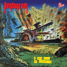 Pentagram - A Keg Full Of Dynamite [blue], LP
