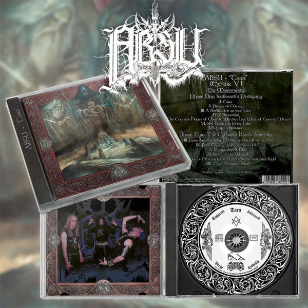 Absu - Tara, CD