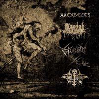 Akerbeltz/Avangh Dhür/Morbid Yell/Hellthrone - Split, LP