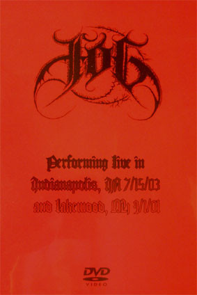 Fog - Live in Indianapolis 7/15/03 & Lakewood 9/1/01, DVDr