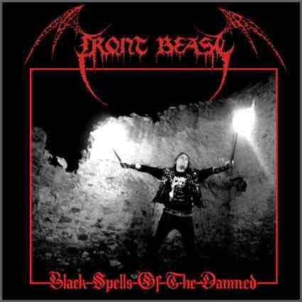 Front Beast - Black Spells Of The Damned, CD