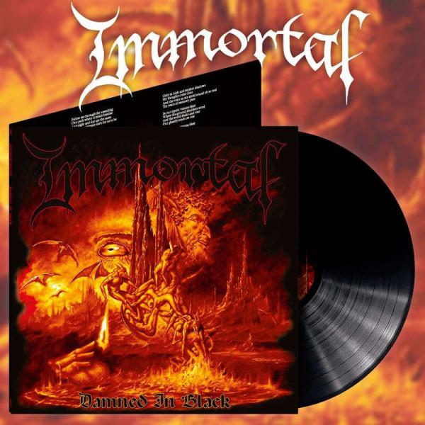 Immortal - Damned In Black [alternative artwork/black - 800], LP