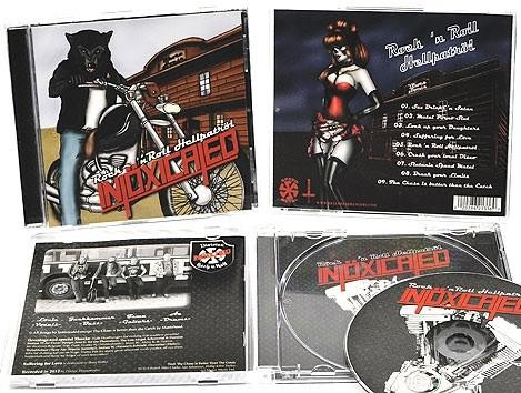 Intoxicated - Rock'n'Roll Hellpatrol, CD