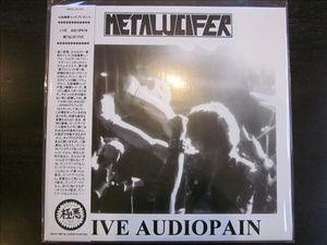Metalucifer - Live Audiopain, LP