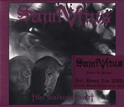 Saint Vitus - The Walking Dead, SC-CD+DVD