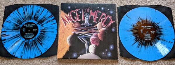Angel of Mercy - The Avatar [blue splatter], 2LP
