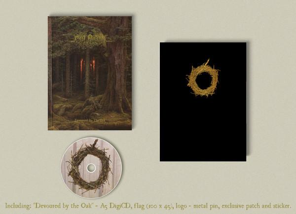 Cân Bardd - Devoured by the Oak, A5-DigiCD BOX