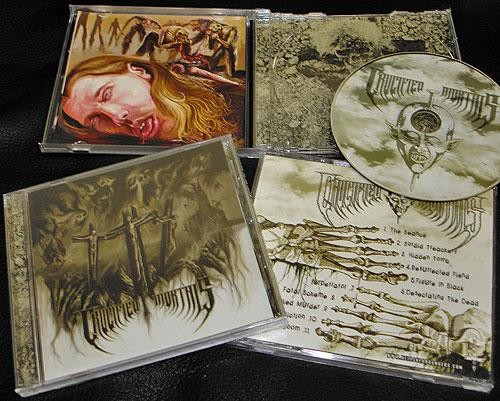 Crucified Mortals - s/t, CD