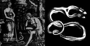 """Joyless/Urfaust - Split [black], 7"""""""